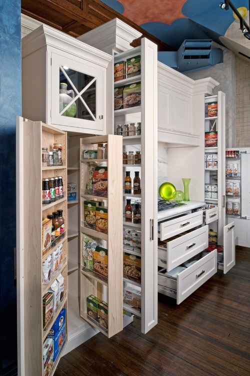 STORAGE SOLUTIONS FOR SMALL KITCHENS | SIMPLE KITCHEN AND BATH
