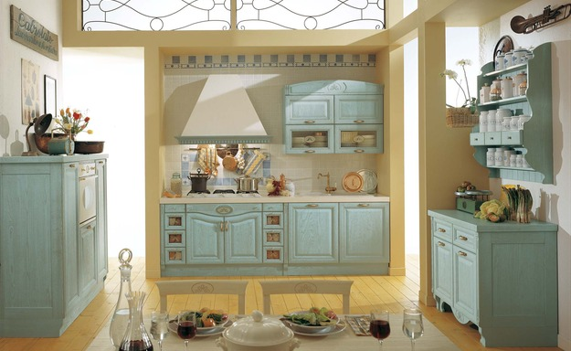 Traditional Kitchen Cabinets in Sintonia Collection