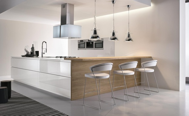 Modern Kitchen Cabinets in Atelier Collection