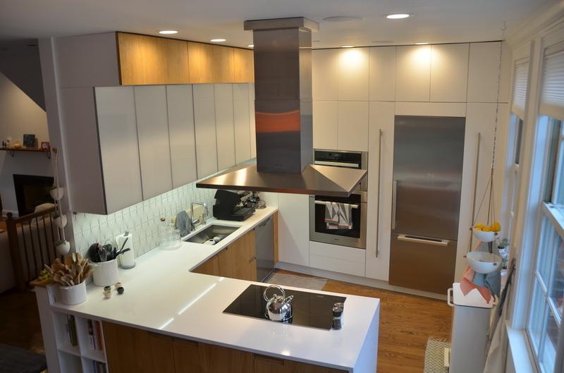 European Kitchen Cabinets On Fairmont Street, Philadelphia